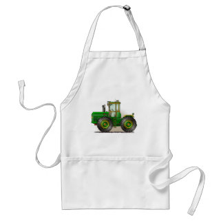 Green Monster Tractor Aprons