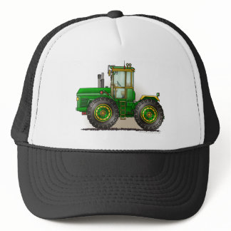 Green Monster Tractor Hats