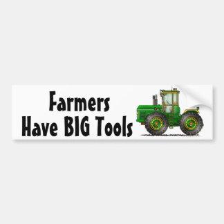 """Green Monster Tractor, Have BIG T... Bumper Stick Bumper Sticker"