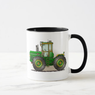 Green Monster Tractor Mugs