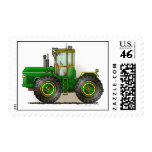 Green Monster Tractor Stamps