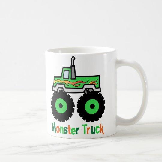 Green Monster Truck Coffee Mug