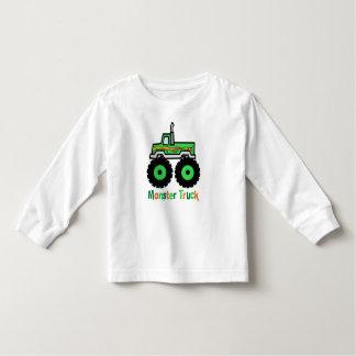 Green Monster Truck Toddler T-shirt