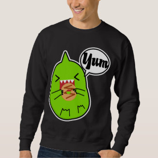 Green Monster With Cookie Sweater