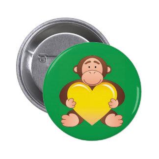 Green Monty Button