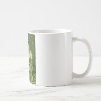 Green Moon Fantasy Art Coffee Mug