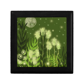 Green Moon Fantasy Art Gift Box