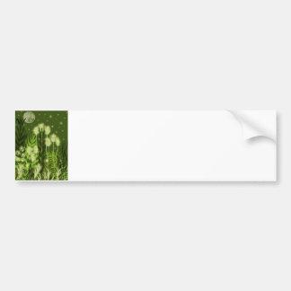 Green Moon Fantasy Bumper Sticker