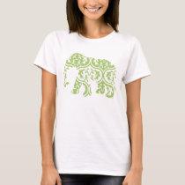Green Moroccan Elephant T-Shirt