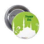 Green Mosque Pin