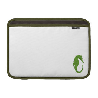 Green Moss Seahorse MacBook Sleeve