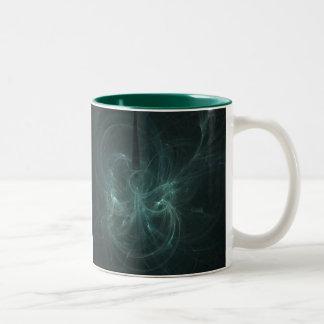 Green Mother Two-Tone Coffee Mug