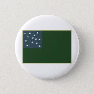 Green Mountain Boys and the Vermont Republic Flag Pinback Button