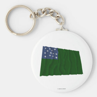 Green Mountain Boys flag Keychain