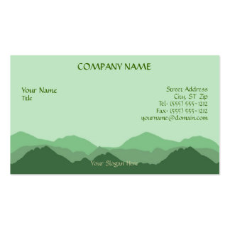 Green Mountain Business Card