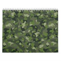 Green mountain disruptive camouflage calendar