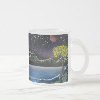 Green Mountain Frosted Mug