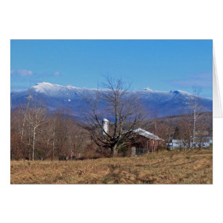 Green Mountains of Vermont Card