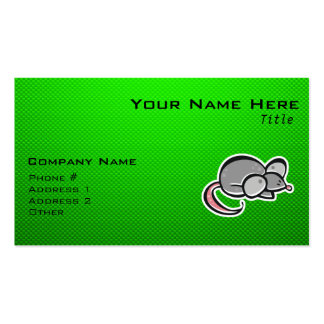 Green Mouse Business Card