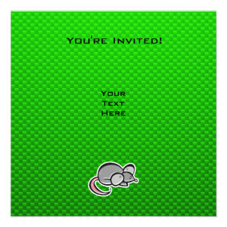Green Mouse Custom Announcements