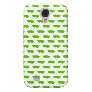 Green Moustaches Galaxy S4 Case