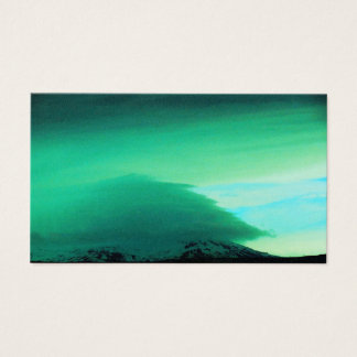 GREEN MOUTAIN CLOUD - ICELAND BUSINESS CARD