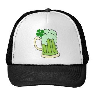 Green Mug Mesh Hats