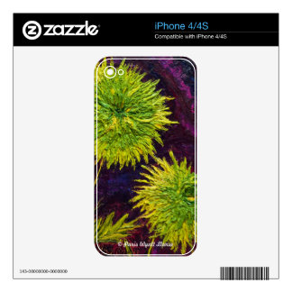 Green Mums Skin For The iPhone 4