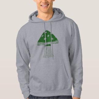 Green Mushroom Hoodie