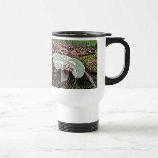 Green Mushroom - Russula crusosa Travel Mug