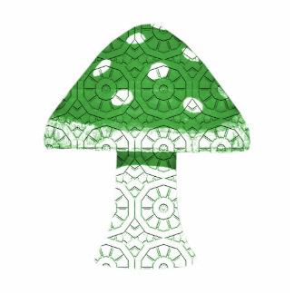 Green Mushroom Statuette