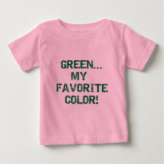 Green My Favorite Color T-shirts and Gifts