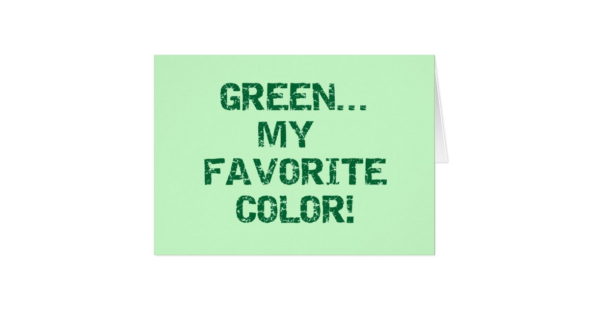 essay on my favourite color green Green: the color of harmony and balance, green symbolizes hope, renewal and peace, and is usually liked by the gentle and sincere greens are generally frank,.