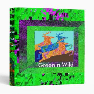 GREEN N WILD BINDER