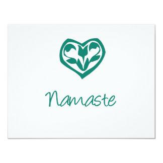 Green Namaste Card