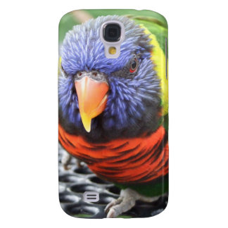 Green Naped Lory iPhone 3 Case