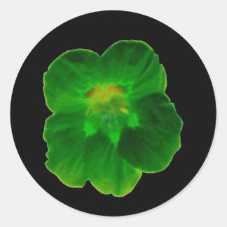 Green Nasturtium Sticker