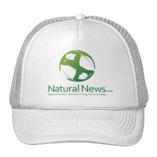 Green Natural News Trucker Cap Trucker Hat