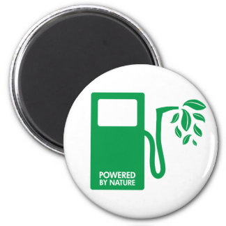 Green Nature Biofuel 2 Inch Round Magnet
