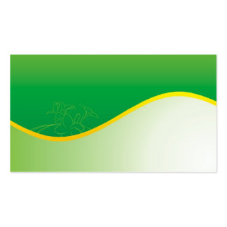 green nature Double-Sided standard business cards (Pack of 100)