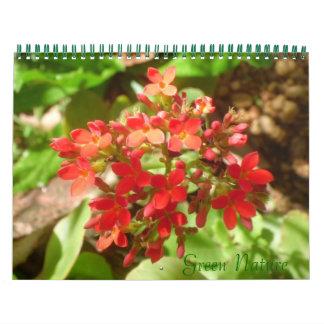 Green Nature Calendar
