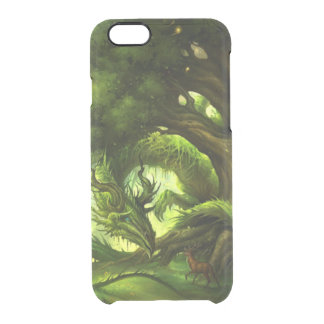 Green Nature Clear iPhone 6/6S Case