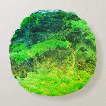 Green Nature Forest Pillow
