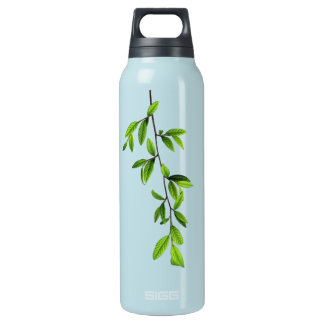 Green Nature l Twig of Leaves Insulated Water Bottle