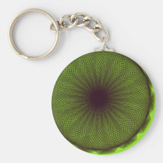 green nature mother nature keychain