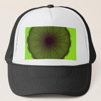 green nature mother nature trucker hat