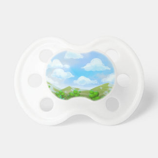 Green Nature Painting BooginHead Pacifier