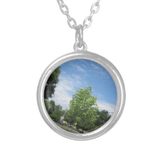 GREEN nature tree skyline NewJersey USA NVN675  GI Jewelry