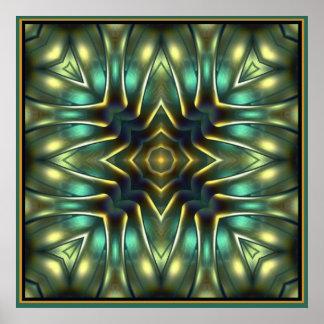 Green Nautilus 4 Poster