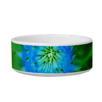green neat water lily flower against green leaves pet water bowls